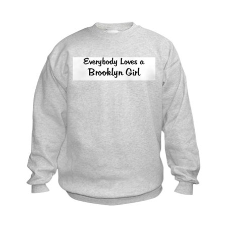 Brooklyn Girl Kids Sweatshirt