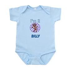 Im 2 Monkey Infant Bodysuit