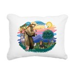 St.Francis #2/Cavalier (BT) Rectangular Canvas Pil