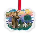 St.Francis #2/ Eng Bull (W #1 Picture Ornament