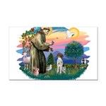 St.Francis #2/ GSHP Rectangle Car Magnet