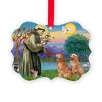 StFrancis-2Goldens.png Picture Ornament