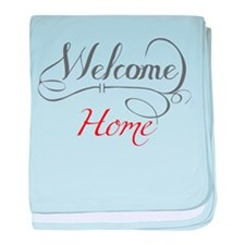 Welcome Home baby blanket