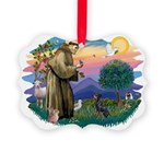 St.Francis #2/ Manchester T Picture Ornament