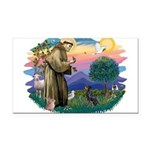 St.Francis #2/ Manchester T Rectangle Car Magnet