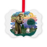 St. Fran (ff) - Ragdoll (Lynx Picture Ornament