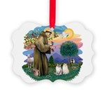 St Fran(f) - 2 Ragdolls Picture Ornament