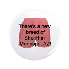 "Cute Sheriff joe arpaio 3.5"" Button"