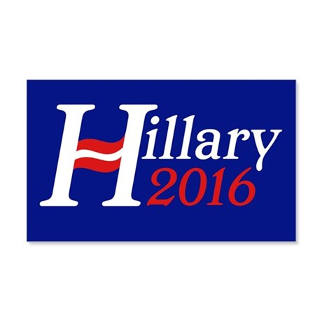 Hillary 2016 20x12 Wall Decal