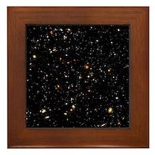 Hubble Ultra Deep Field galaxies - Framed Tile