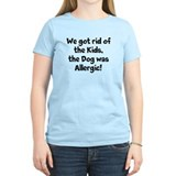 The Dog was Allergic Tee-Shirt