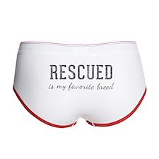 Rescued is Women's Boy Brief