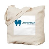 "L. Chihuahua ""One Cool Dog"" Tote Bag"