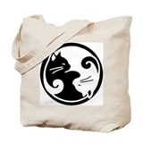 Unique Yin yang Tote Bag