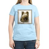 Briard Art Gifts Women's Pink T-Shirt