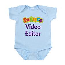 Future Video Editor Infant Bodysuit
