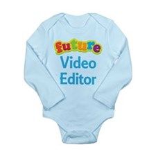 Future Video Editor Long Sleeve Infant Bodysuit