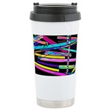 Zeolite crystals, light micrograph - Travel Mug