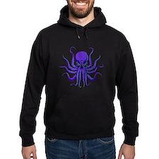All seeing Octopus purple Hoodie