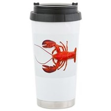 Atlantic lobster - Ceramic Travel Mug