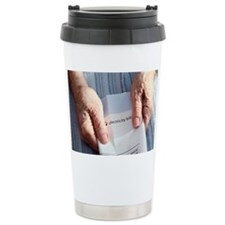 Fuel poverty - Ceramic Travel Mug