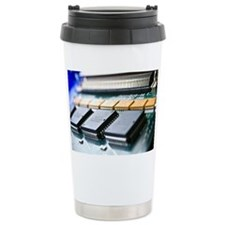 Circuit board components - Ceramic Travel Mug