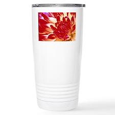 Dahlia flower - Travel Mug