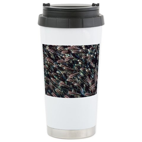 Striped eel catfish shoal - Ceramic Travel Mug