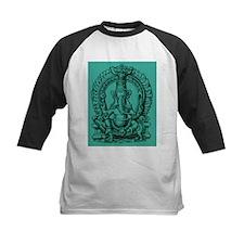 Blue Ganesh Hindu God of Knowledge Engraving Tee