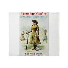 buffalo bill Throw Blanket