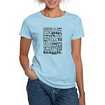 Eat Sleep Snuggle Women's Light T-Shirt