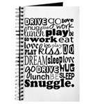 Eat Sleep Snuggle Journal