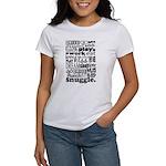 Eat Sleep Snuggle Women's T-Shirt