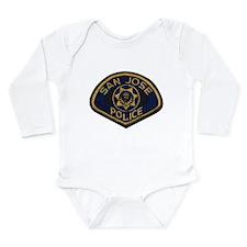 San Jose Police patch Long Sleeve Infant Bodysuit