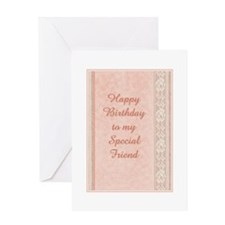 birthday-friend Greeting Cards
