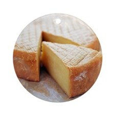Camembert cheese - Round Ornament