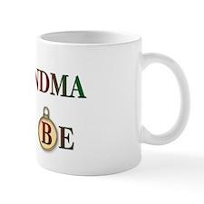 Christmas Grandma To Be Mug
