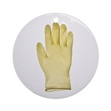 Surgical gloves - Round Ornament