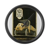 mack truck Large Wall Clock