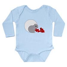 Heart Collector Long Sleeve Infant Bodysuit
