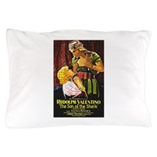 rudolph valentino Pillow Case