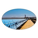 Solar power plant, California - Decal
