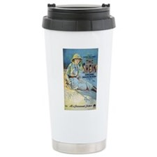 rudolph valentino Ceramic Travel Mug