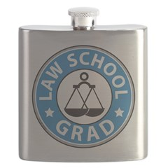 law school graduation flask
