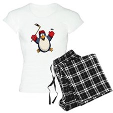 Hockey Penguin Pajamas