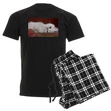 white cat Pajamas