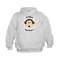 My Monkey Made Me Do It! Hoodie