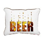 Beer Rectangular Canvas Pillow