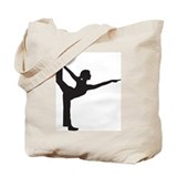 Bikram Yoga Bow Pose Tote Bag