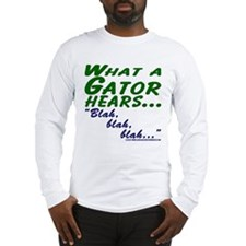 Funny Gator Long Sleeve T-Shirt
